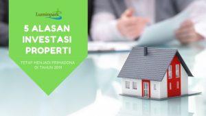 investasi properti menjadi primadona